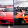 Ferrari F430 vs KTM X-BOW