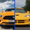 Ford Mustang vs Dodge Viper