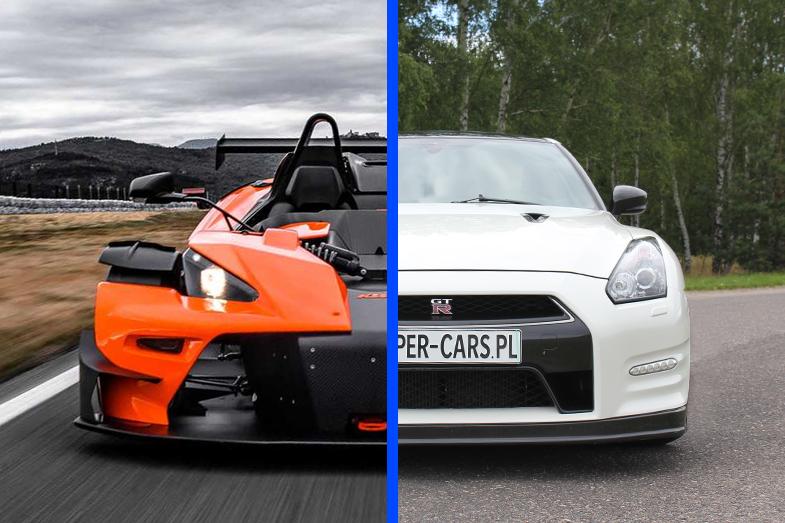 KTM X-BOW vs Nissan GT-R