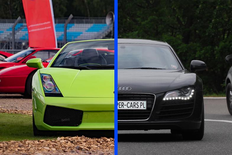 Lamborghini Gallardo vs Audi R8