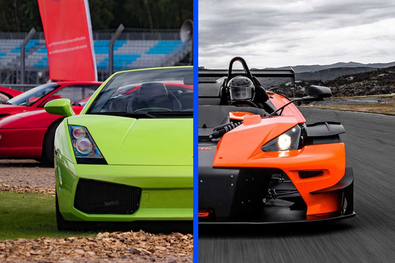 Lamborghini Gallardo vs KTM X-BOW