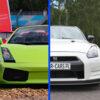 Lamborghini Gallardo vs Nissan GT-R